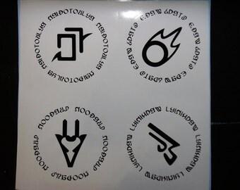 Job Symbol Decals