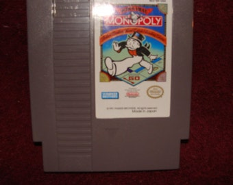 Nintendo Nes Monopoly