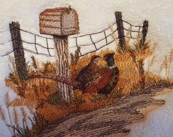 Pheasant Hand Towel