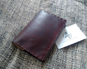 Passport wallet, Travel wallet, 'Chocolate'
