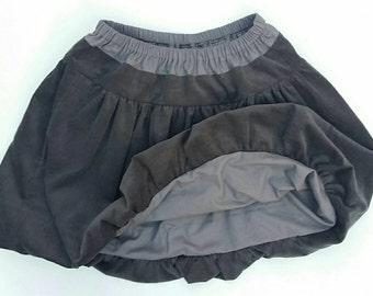 Custom made ladies bubble skirt