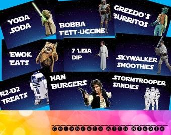 Star Wars Food Labels!