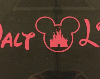 Walt Life Car Decal