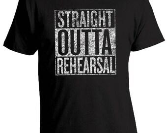 Broadway Shirt, Musical Shirt, Theater Shirt, Theatre T-shirt, Broadway, Play, Musical Theatre, Broadway Dancer T-Shirt Rehearsal