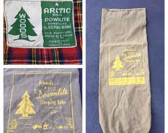 Vintage Woods Arctic Downlite sleeping robe/bag