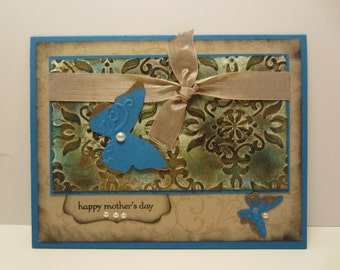 Butterfly Mother's Day Patina Card