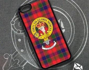 Clan Crest iPhone Plastic Case, 4, 5 & 6