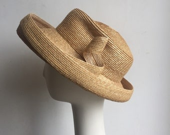 Straw Cross Over Fedora