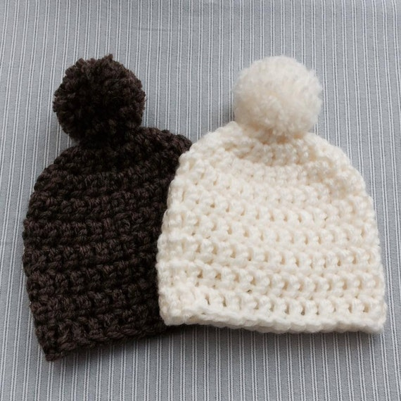 Toddler Knit Hat With Bulky Yarn 9mm