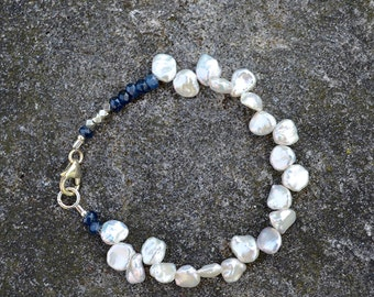Keishi Pearl Bracelet