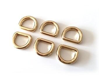 13mm Inside Diameter D Ring for handmade bags - D-ring