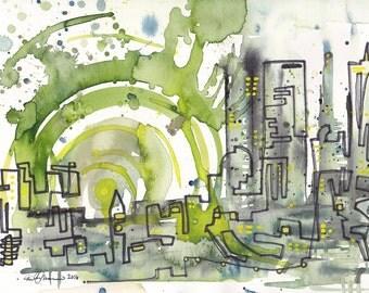 Urban Jungle PRINT