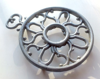 Vintage holder for kettle, pots or pans. Stand for utensils.