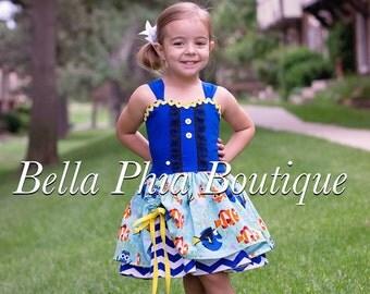 Dory Poppy Dress