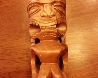 ON SALE - Limited Time Vintage wood tiki