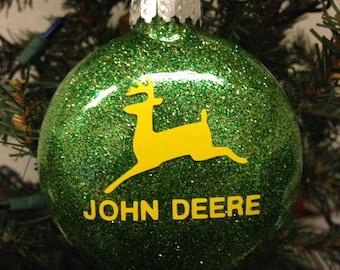 Holiday Christmas Tree Ornament John Deere