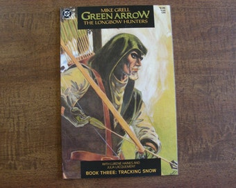 Green Arrow Longbow Hunters #3 VF+ 1st Print, Mike Grell, 1987 Black Canary