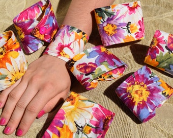 Cloth Bracelets - Hand Crafted