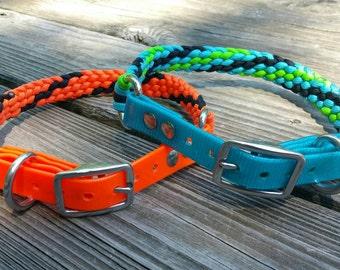 Biothane/Paracord Adjustable  Dog Collar