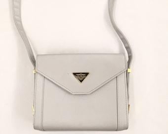 Vintage Gray Shoulder Bag