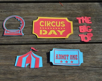 Circus Die Cuts