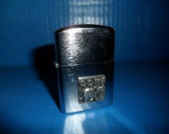1960's Vintage Lighter New Unused Made in Japan - GOP Political Republican Elephant - M.I.