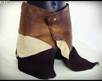 Amazon leather skirt