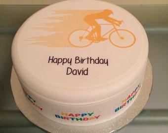 Bike cake topper   Etsy