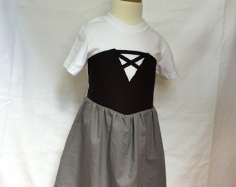 Sleeping Beauty-inspired Comfy T-Shirt Dress, sizes 2 and 3 (ages 2-3, 3-4)