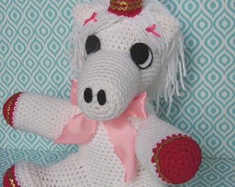 Pink Unicorn crochet