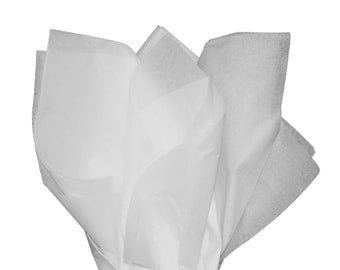 "White Tissue Paper 15"" X 20"" - 100 Sheet Count"