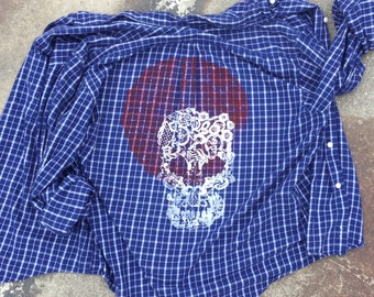 Screenprinted Flannel Shirt