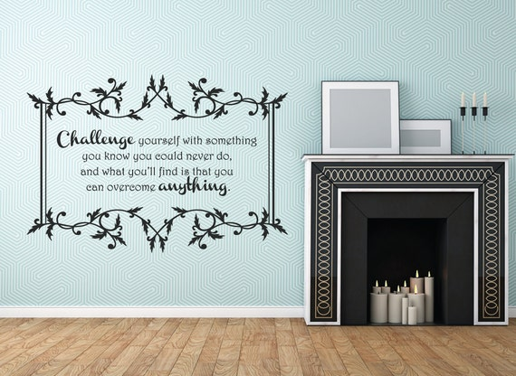 Challenge Yourself Decal by Walls2LifeDecals