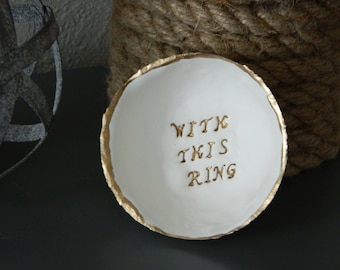 With This Ring // Ring Dish