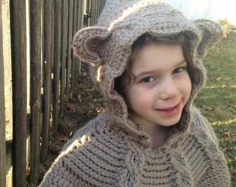 Bear Hood Cowl