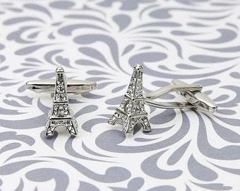 ON SALE Eiffel Tower Paris Cufflinks