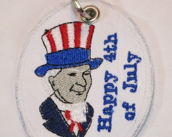 Key ring Happy independence Day