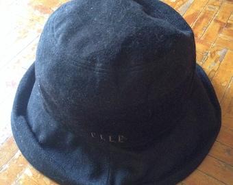 Women's ELLE Paris Winter Style Bucket Hat Size M 57.5cm