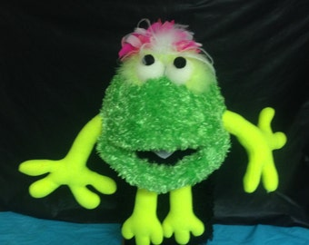 "Large""Flurrball"" Puppet Green"