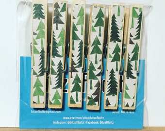 Forest Clothespins