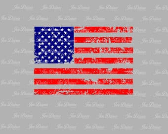 Distressed Flag, SVG DXF EPS , Flag Design, flag svg file, svg file for Cricut, Silhouette svg, cutting file,distressed flag svg, flag file