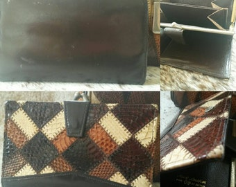 Real Snakeskin Purse in fabulous condition