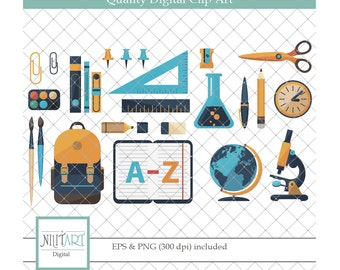 student clipart , globe clipart, vector graphics, School clipart,  digital images -  CL 128