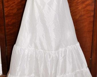 Vintage Wedding Slip, Floor Length Slip, by Sydney Bush, Size 10, Bridal Petticoat, Bridal Slip, Wedding Slip, Bride Gown Slip