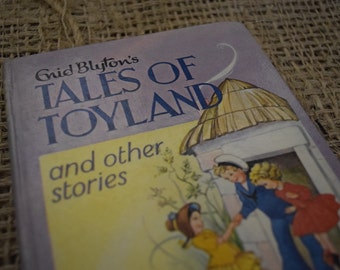 Enid Blyton's Tales of Toyland. Dean and Son. A Vintage Hardback Book. 1963