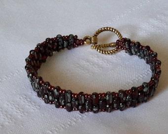 Ruby picasso bracelet