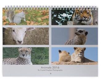 Animal Calendar 2016