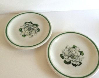 Vintage Gardenia Dishes/ Syracuse Gardenia Dishes/Vintage Dishes/ Vintage Floral Dishes