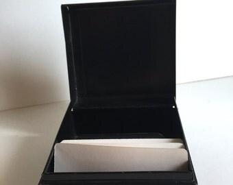 Vintage Business Card File Box
