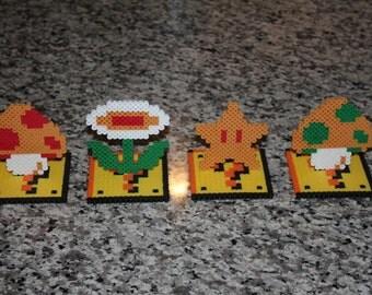 Super Mario Bros Power Up Perlers